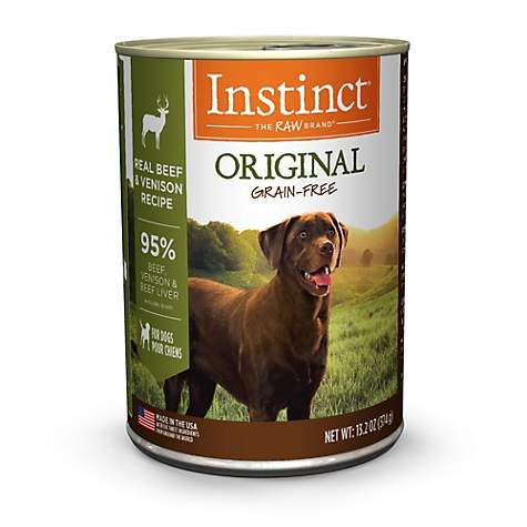 Instinct Grain Free Canned Dog Food By Nature