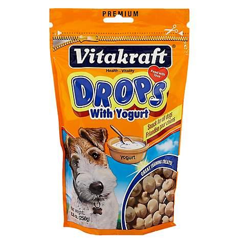 Vitakraft Drops with Yogurt Dog Treats   Petco