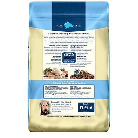 Blue Buffalo Life Protection Formula Puppy En Brown Rice Recipe Dry Dog Food Petco