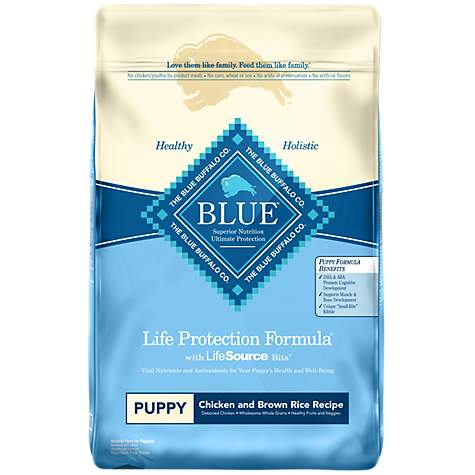 Blue Buffalo Blue Life Protection Formula Puppy Chicken Brown Rice
