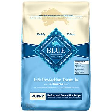 Blue Buffalo Blue Life Protection Formula Puppy Chicken & Brown Rice Recipe Dry Dog Food