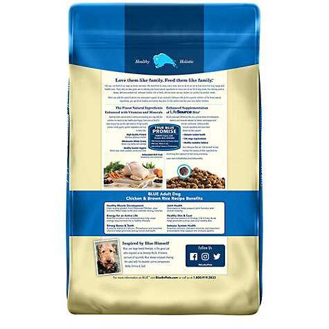 Blue Buffalo Blue Life Protection Formula Adult Chicken Brown Rice