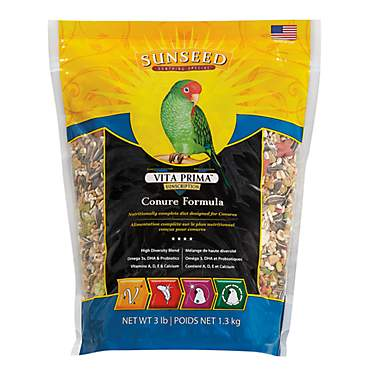 Sun Seed Vita Prima Sunscription Conure Food