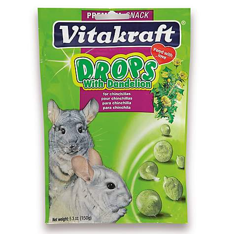 Vitakraft Drops with Dandelion Chinchilla Treats