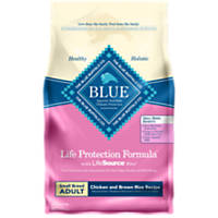 Blue Buffalo Small Breed Life Protection Formula Chicken & Brown Rice Adult Dog Food