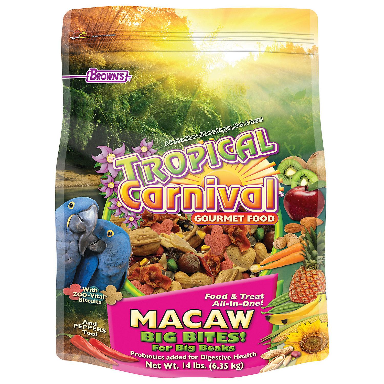 Browns Tropical Carnival Gourmet Macaw Food