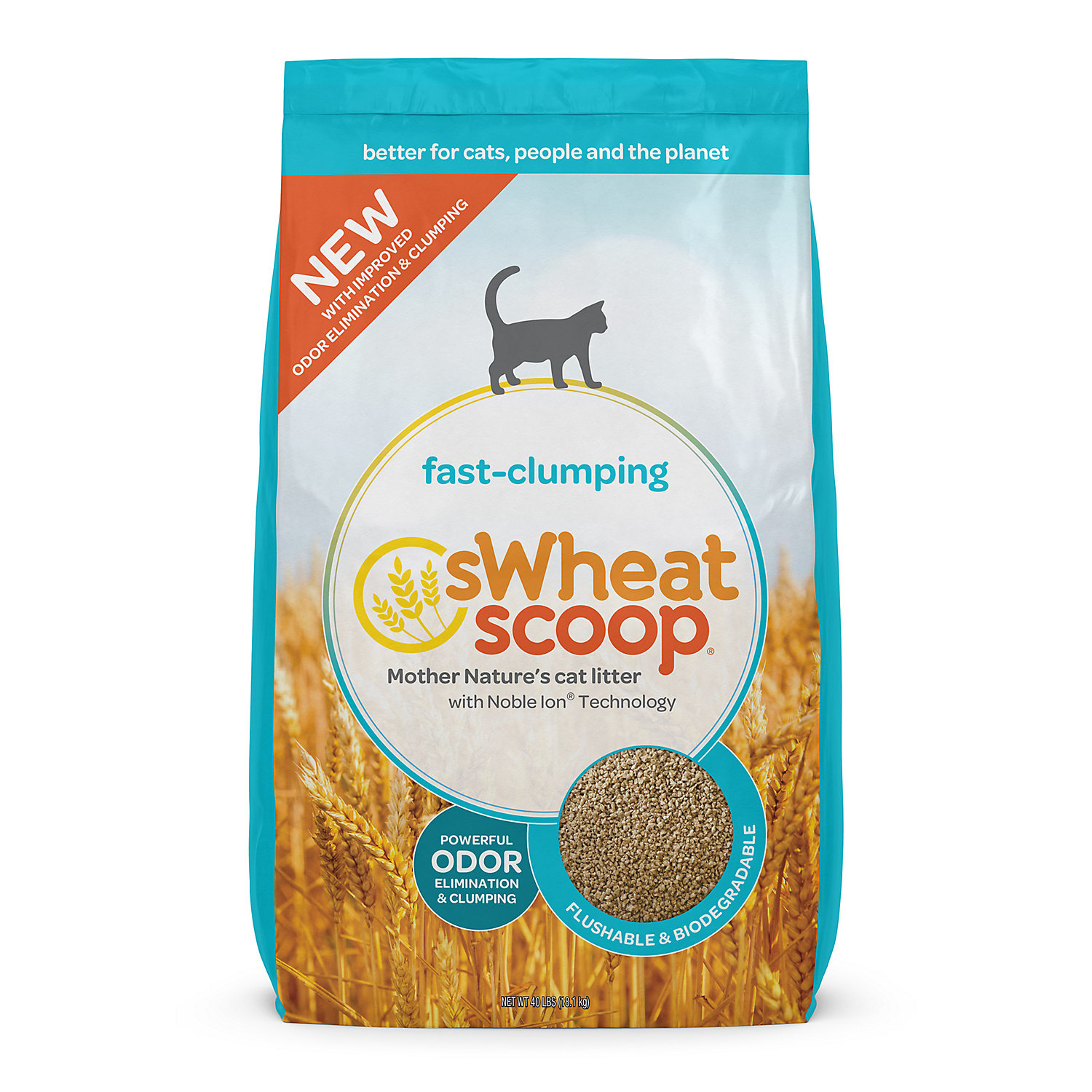 What Is Swheat Scoop Cat Litter Made Out Of