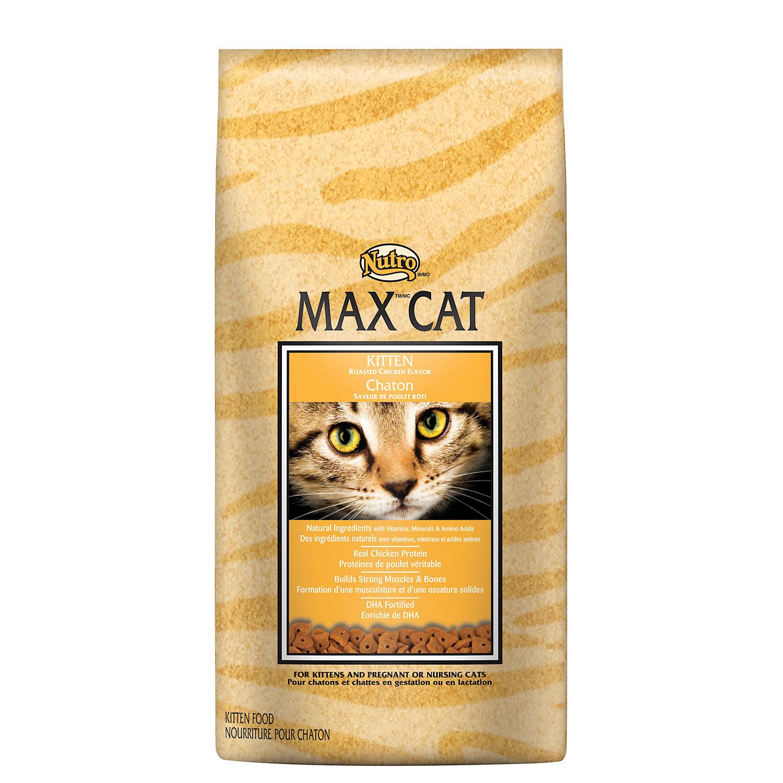 Nutro Max Cat Kitten Food Roasted Chicken Flavor 3 Lbs.