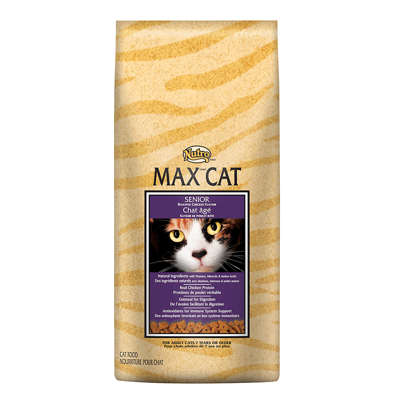 Nutro Max Cat Senior Cat Food Roasted Chicken Flavor