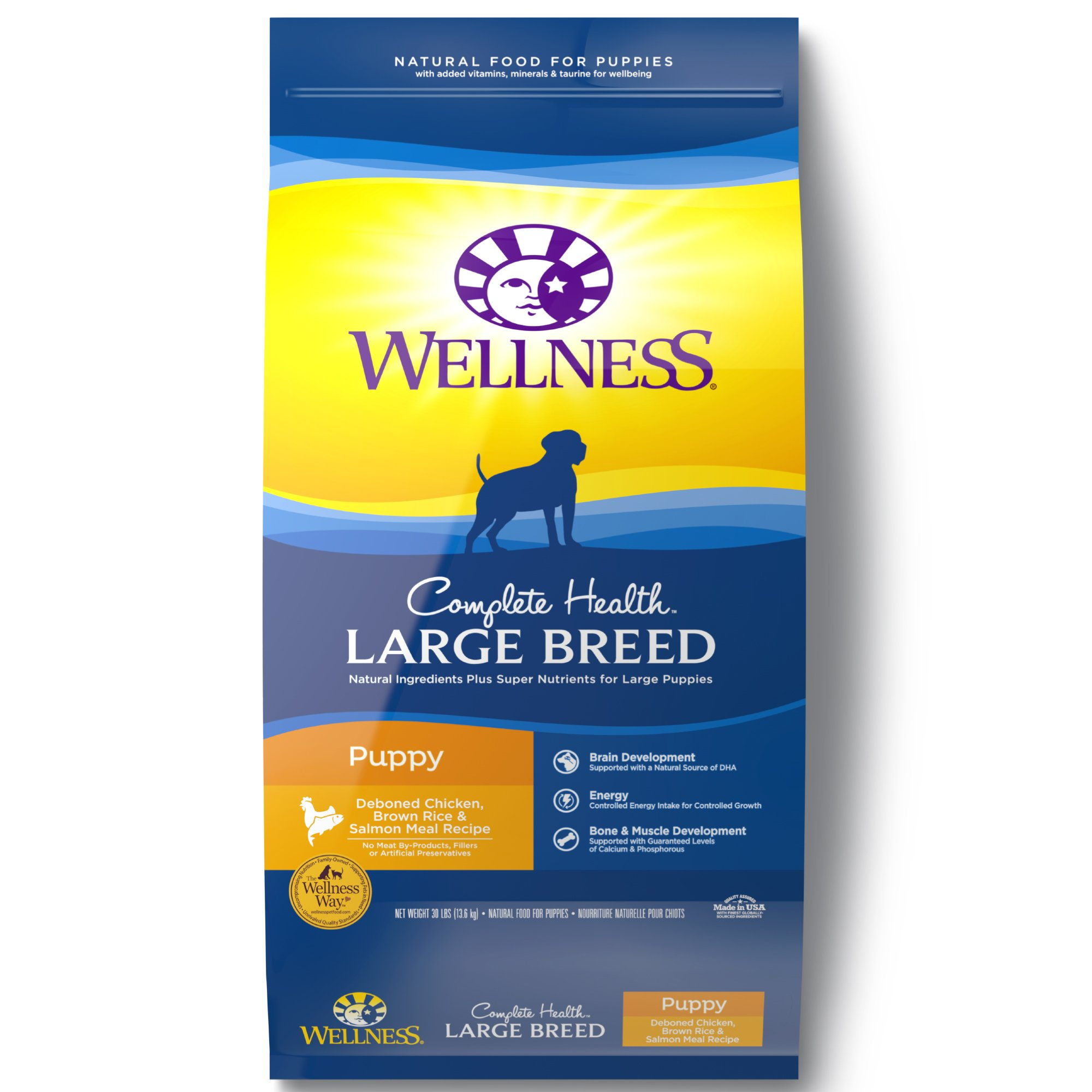 Wellness Complete Health Natural Large Breed Puppy Health