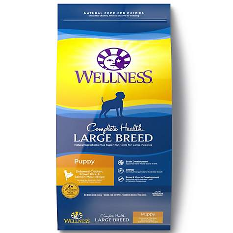 Wellness Complete Health Natural Large Breed Puppy Health Recipe Dry