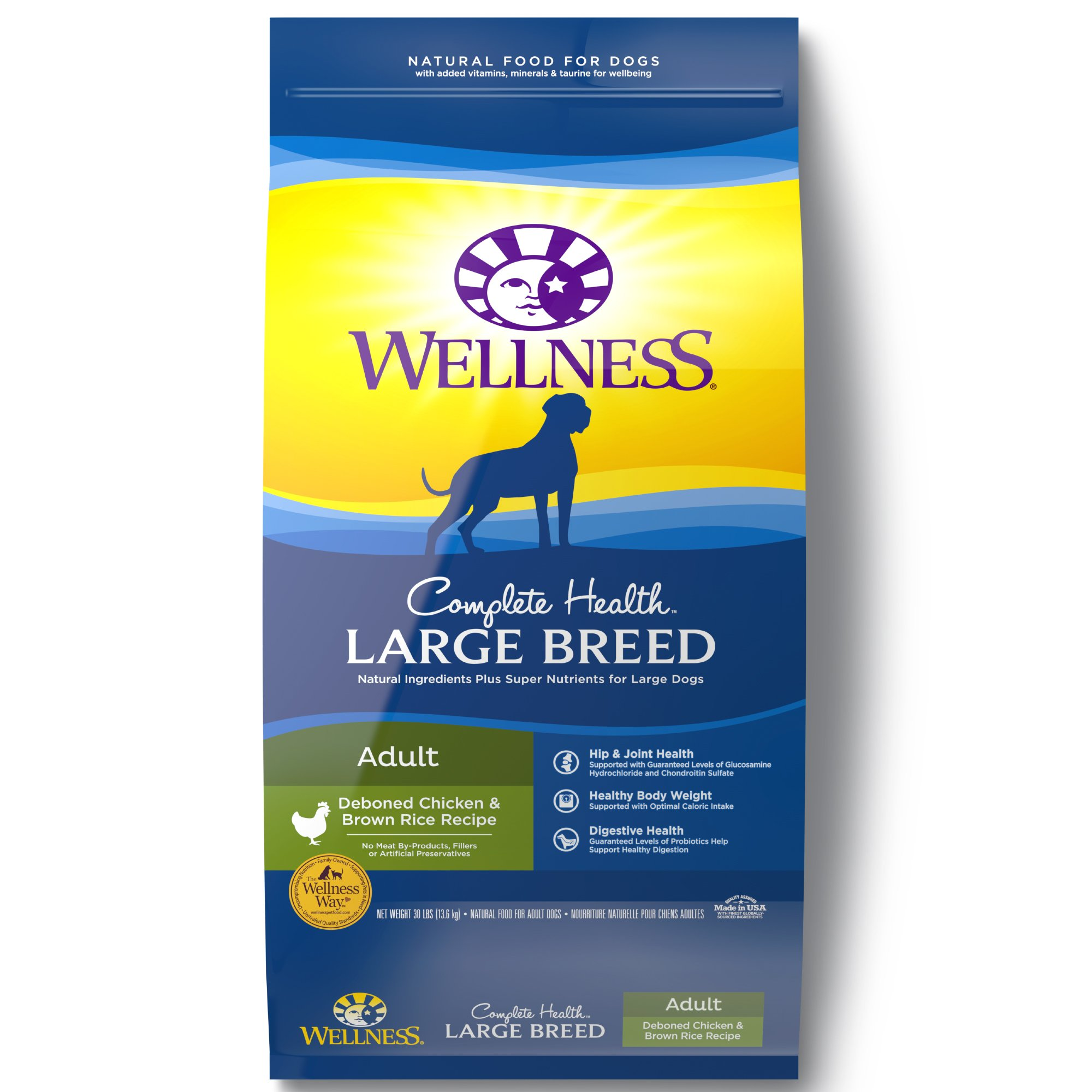 Wellness Complete Health Natural Large Breed Health Recipe