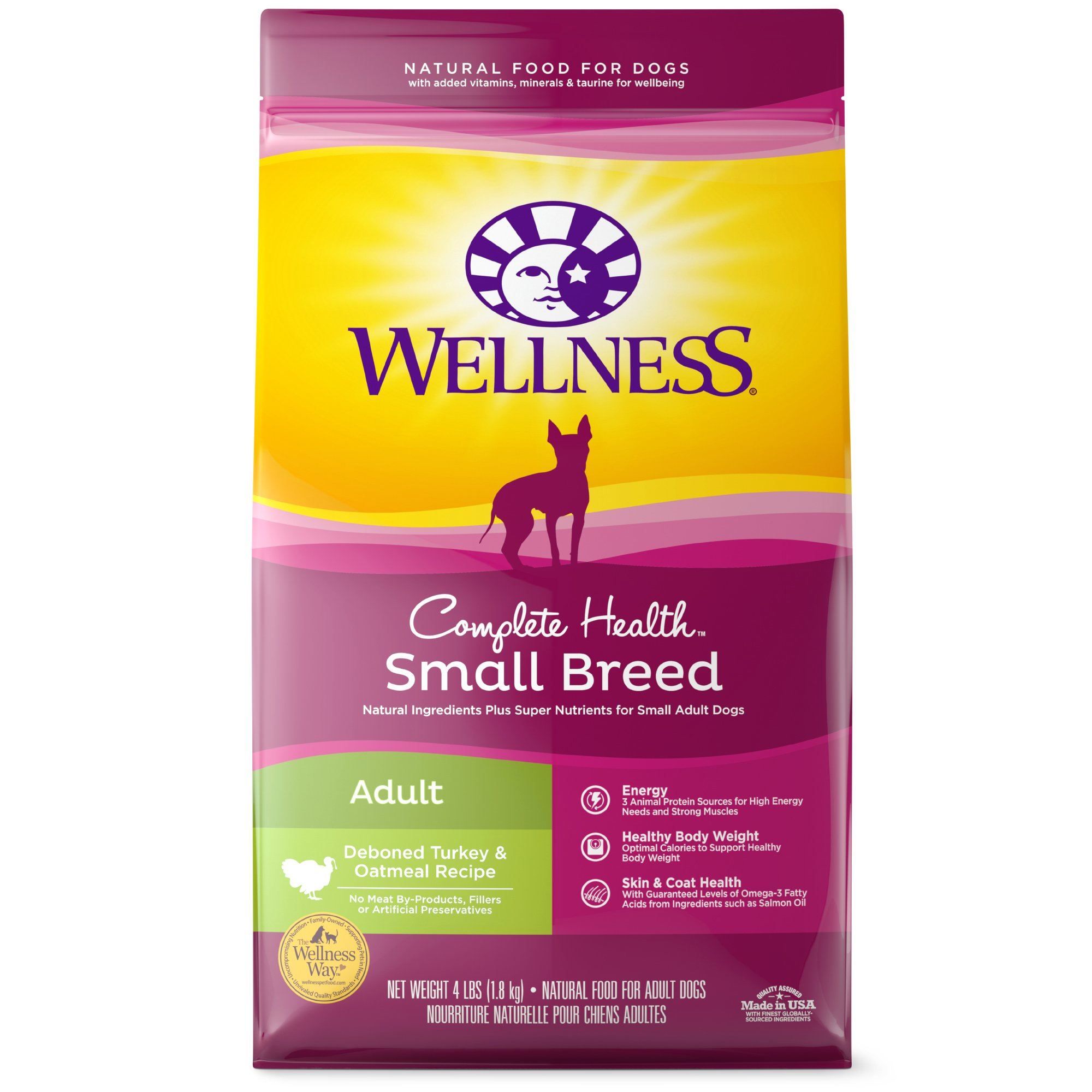 Wellness Complete Health Natural Small Breed Turkey And