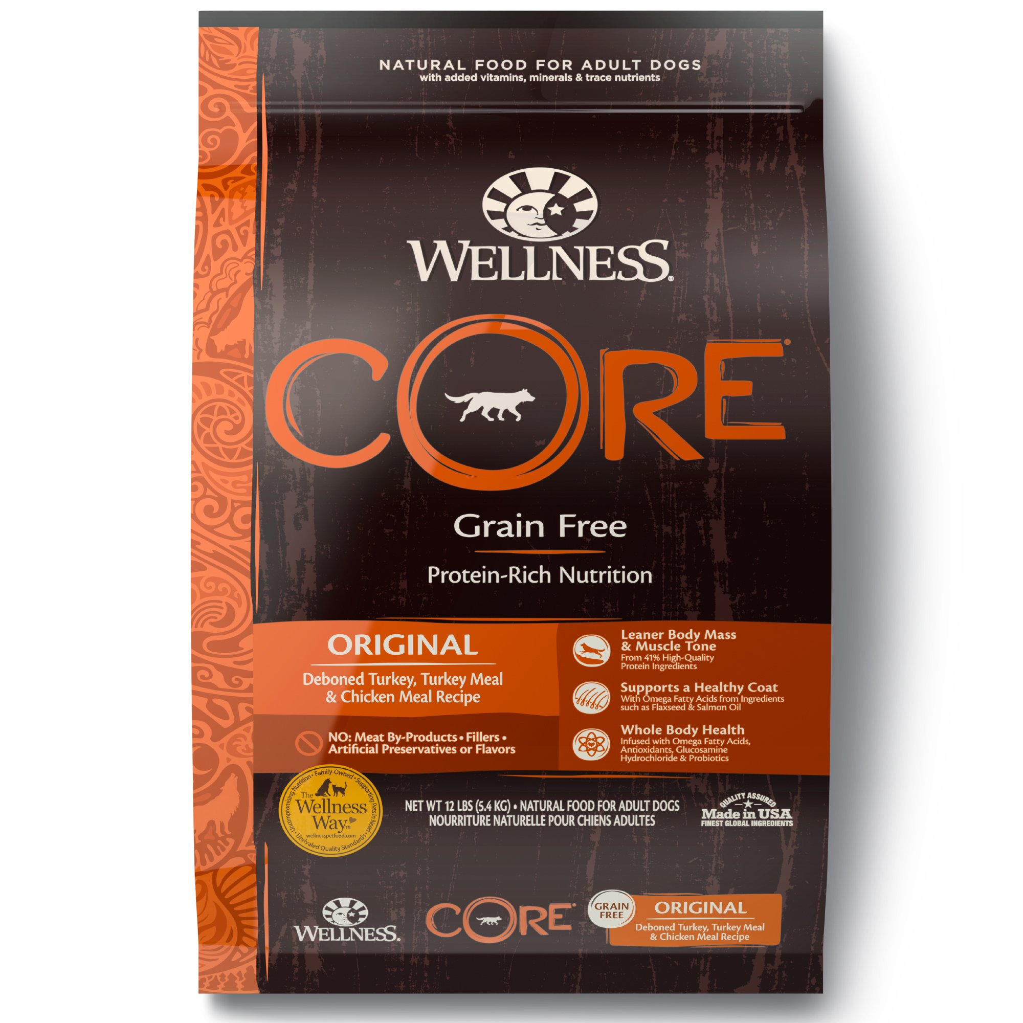 Wellness Core Natural Grain Free Original Recipe Dry Dog