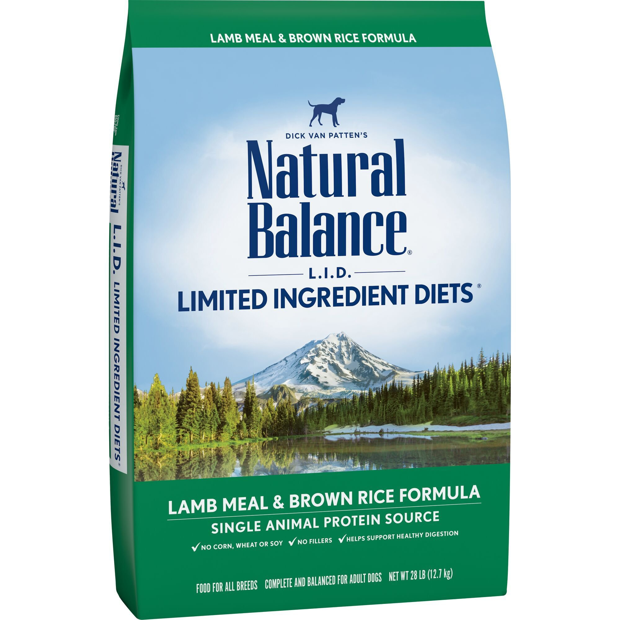 Natural Balance Limited Ingredient Dog Food Lamb And Rice