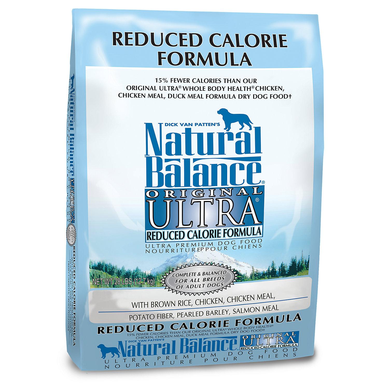 Natural Balance Dog Food Reduced Calorie Formula
