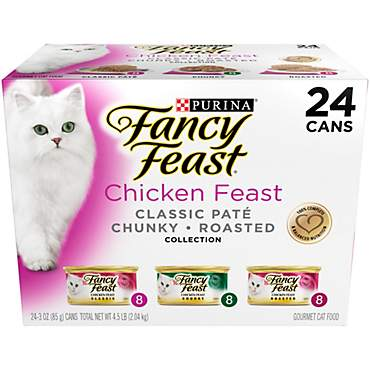 Purina Fancy Feast Classic Pate Collection Chicken Feast Wet Cat Food