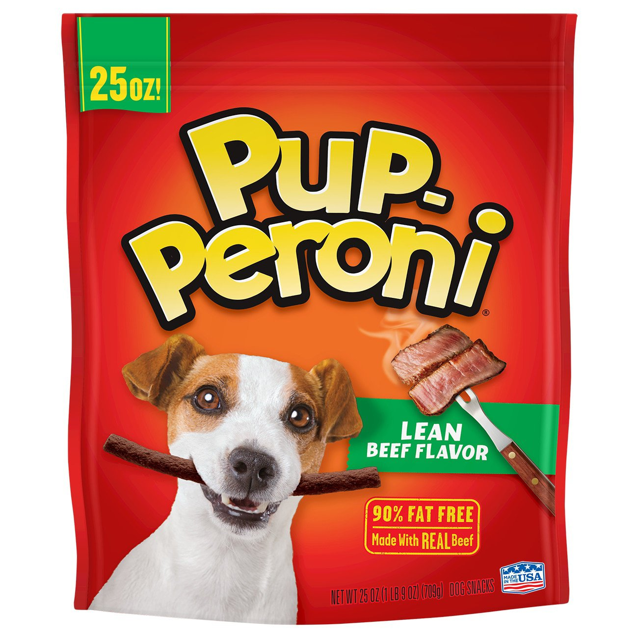 Pup-Peroni Lean Beef Flavor Dog Treats, 25 oz.