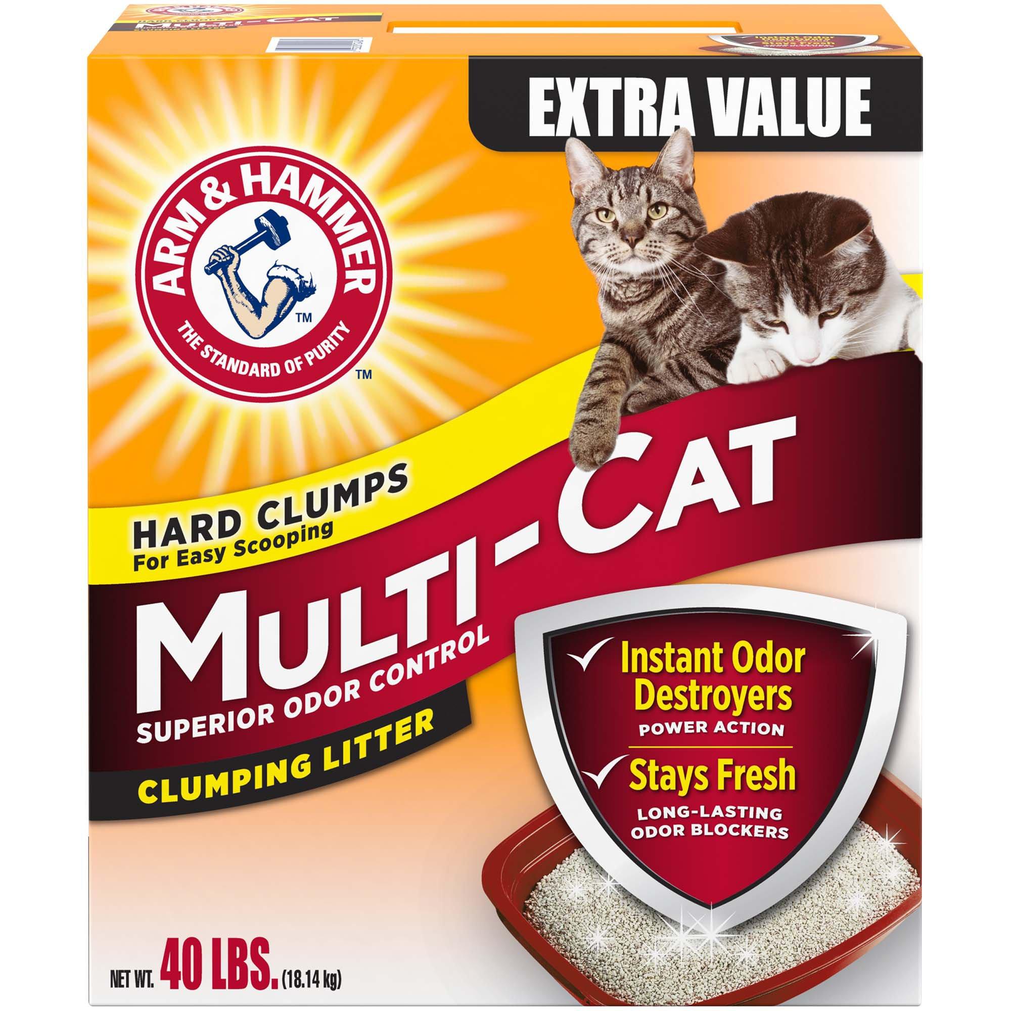 Petco Arm Hammer Multi Cat Strength Clumping Litter