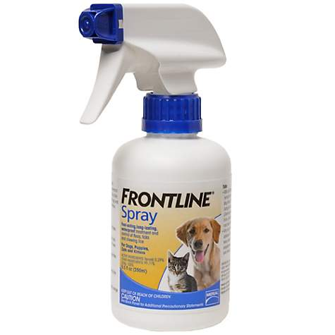 frontline for puppies. FRONTLINE Spray Treatment For Pets Frontline Puppies