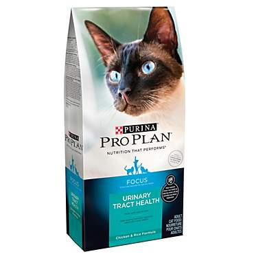 Purina Pro Plan Focus Urinary Tract Health Chicken & Rice Formula Adult Dry Cat Food