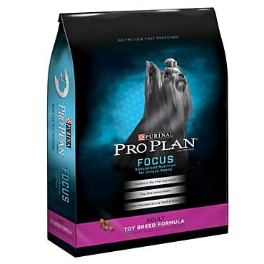 Purina Pro Plan Focus Toy Breed Formula Adult Dry Dog Food