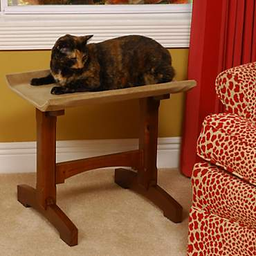 Mr. Herzher's Single Seat Feline Furniture in Brown
