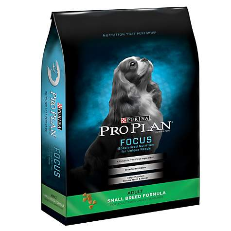 Purina Pro Plan Focus Small Breed Formula Dry Dog Food, 18 lbs