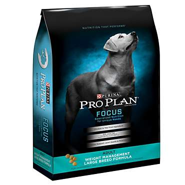 Purina Pro Plan Focus Weight Management Large Breed Formula Adult Dry Dog Food