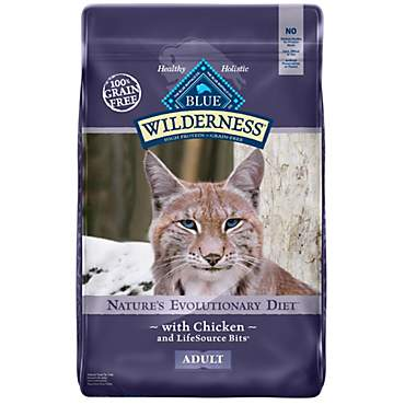 Blue Buffalo Blue Wilderness Adult Chicken Recipe Dry Cat Food