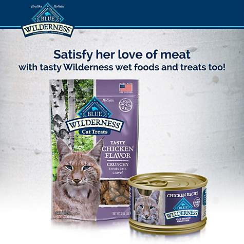 Blue Buffalo Blue Wilderness Adult Chicken Recipe Dry Cat Food Petco