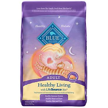 Blue Buffalo Blue Healthy Living Adult Chicken & Brown Rice Recipe Dry Cat Food