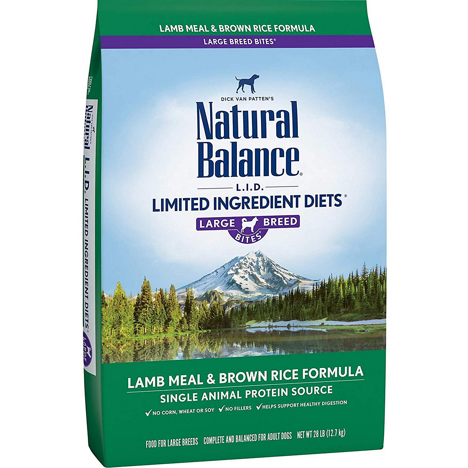 Natural Balance L.i.d. Limited Ingredient Diets Lamb Meal Brown Rice Large Breed Dog Food