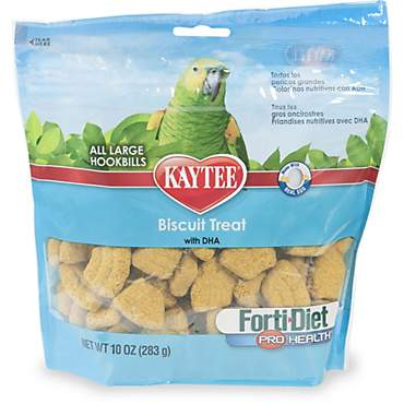Kaytee Forti-Diet Pro Health Biscuit Treat for Large Hookbills