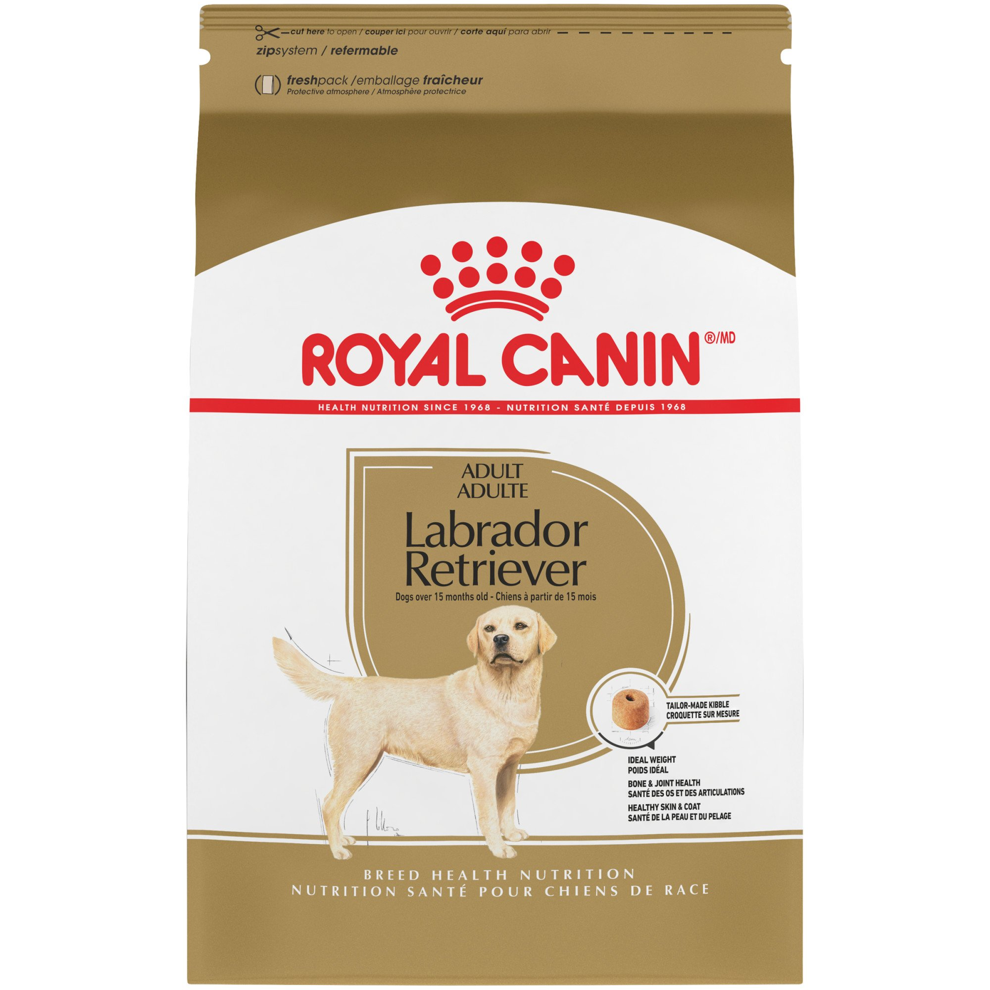 royal canin breed health nutrition labrador retriever adult dry dog food petco. Black Bedroom Furniture Sets. Home Design Ideas