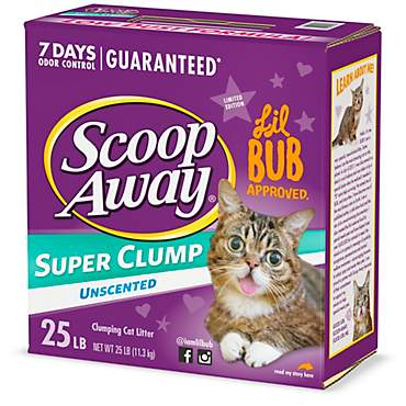 Scoop Away Unscented Super Clump Cat Litter