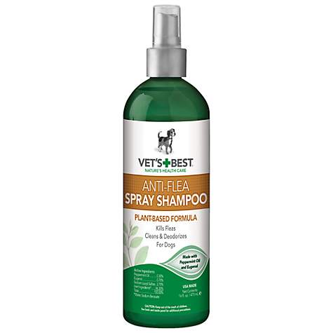 Vet's Best Anti-Flea Easy Spray Flea Shampoo for Dogs
