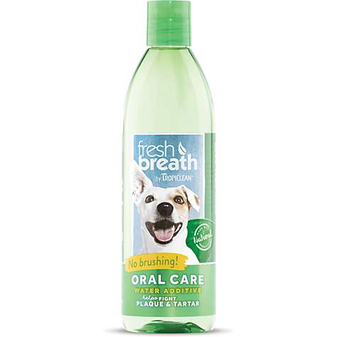 TropiClean Fresh Breath Oral Care Water Additive for Dogs
