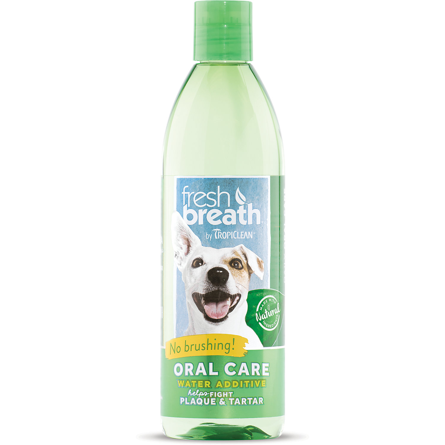 Tropiclean Fresh Breath Oral Care Water Additive For Dogs 16 Oz.