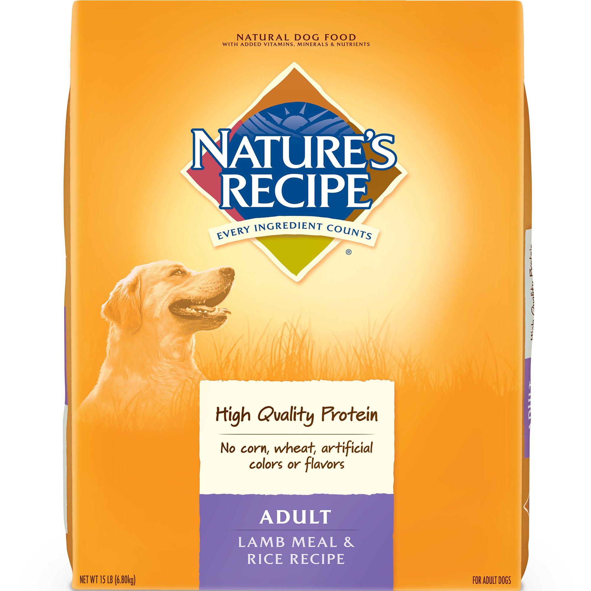 Lamb Meal & Rice Adult Dog Food, 15 lbs