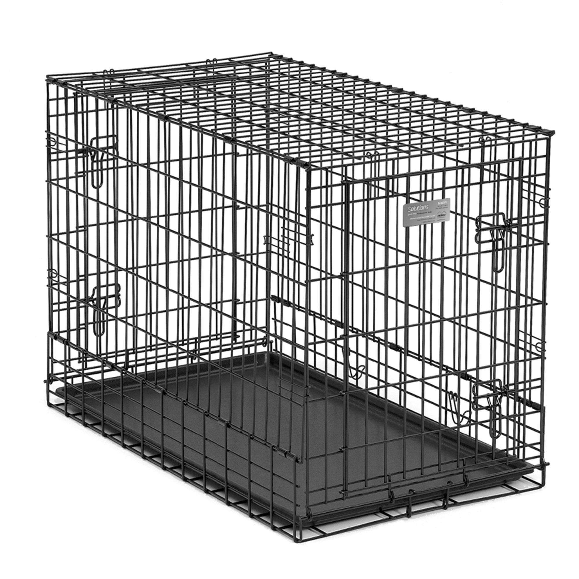 midwest solution series sidebyside double door suv dog crates - Midwest Crates