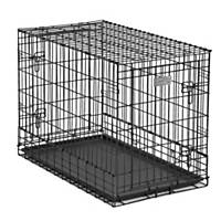 midwest solution series sidebyside double door suv dog crates