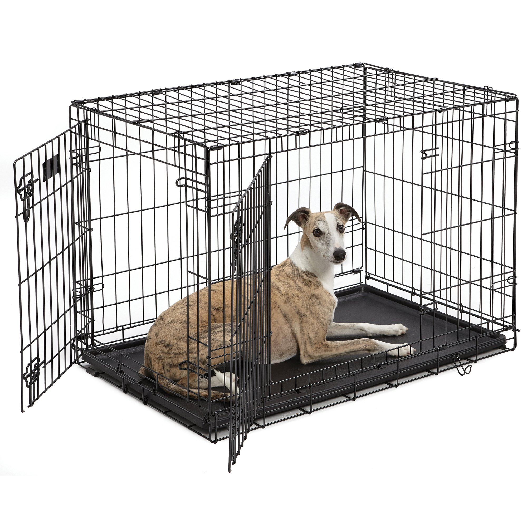 Midwest iCrate Double Door Folding Dog Crates | Petco | Tuggl