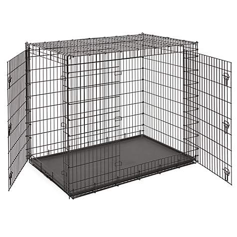 Midwest Solution Series Ginormus Double Door Dog Crate Petco