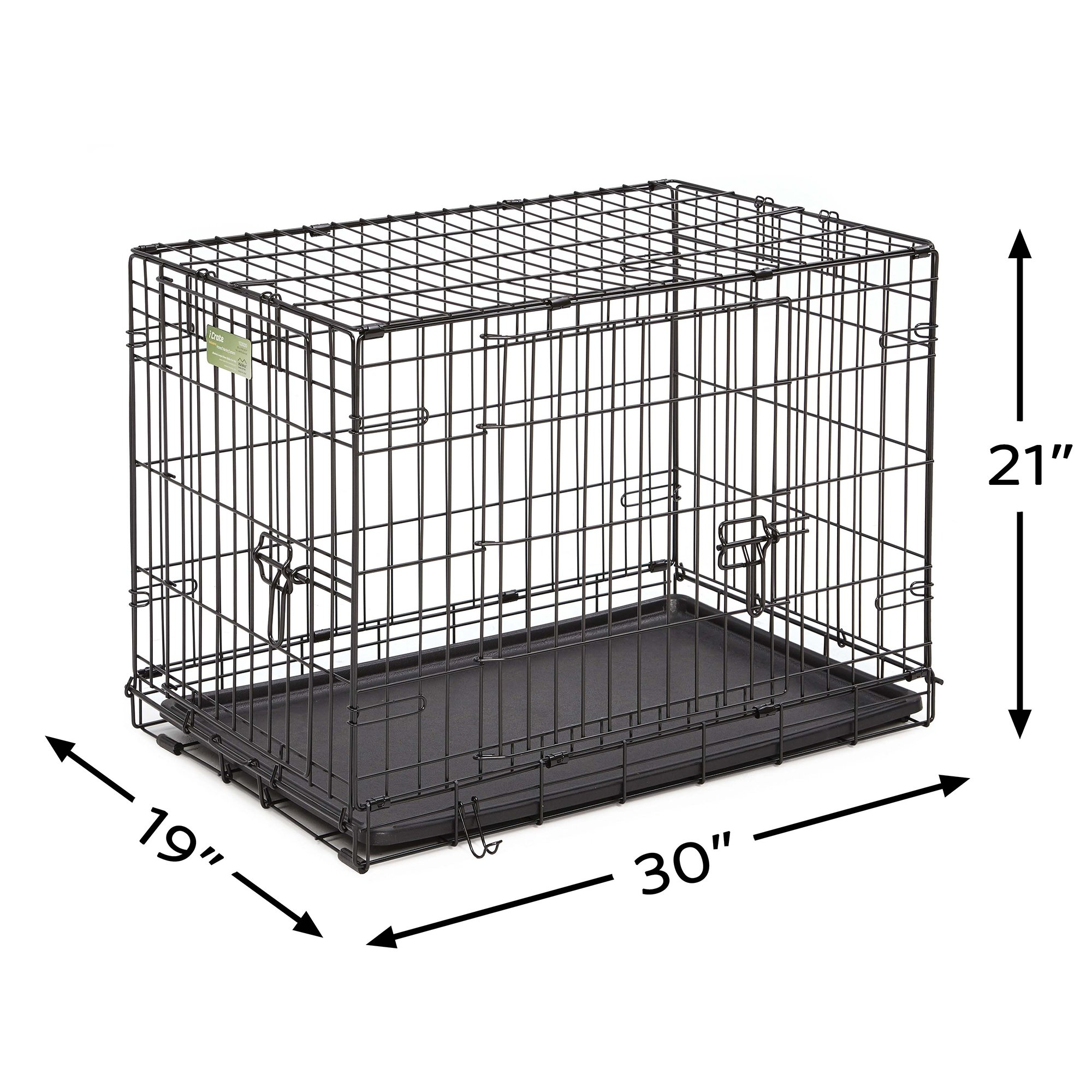 Midwest-iCrate-Double-Door-Folding-Dog-Crates thumbnail 16