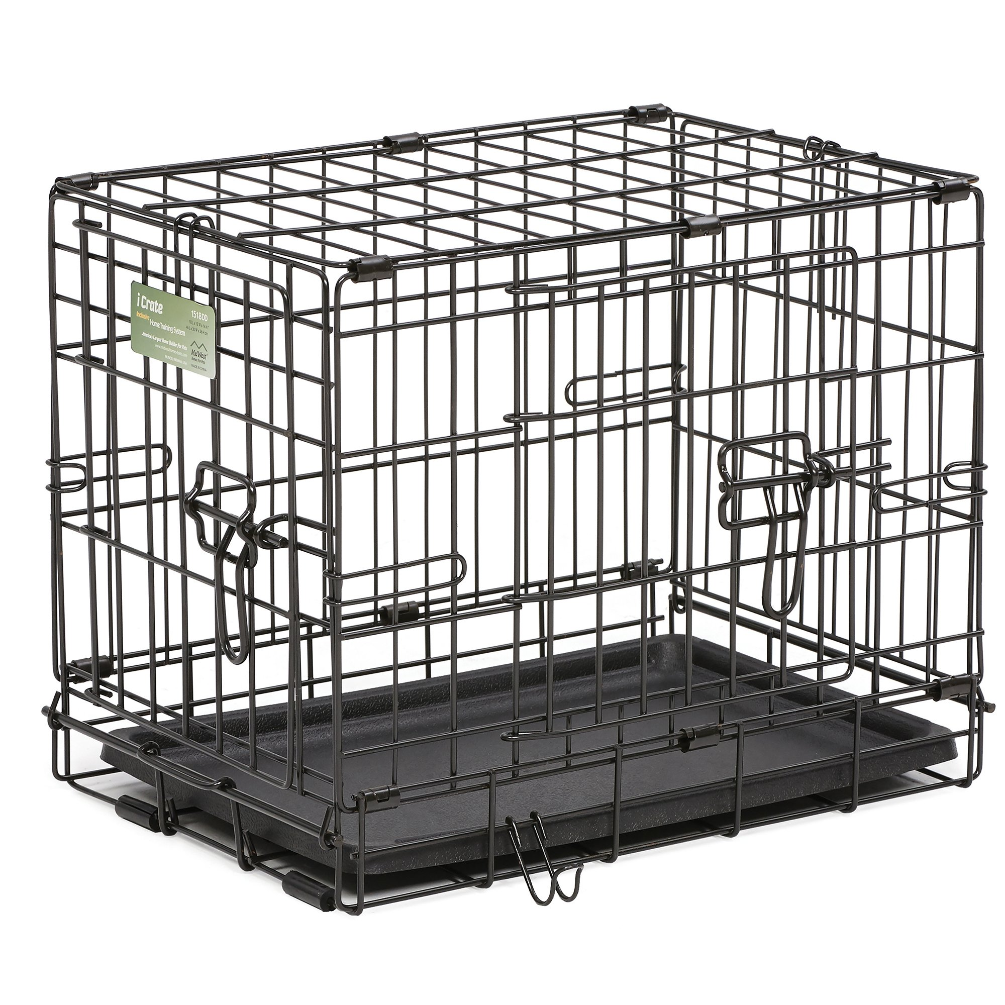 Midwest-iCrate-Double-Door-Folding-Dog-Crates thumbnail 20