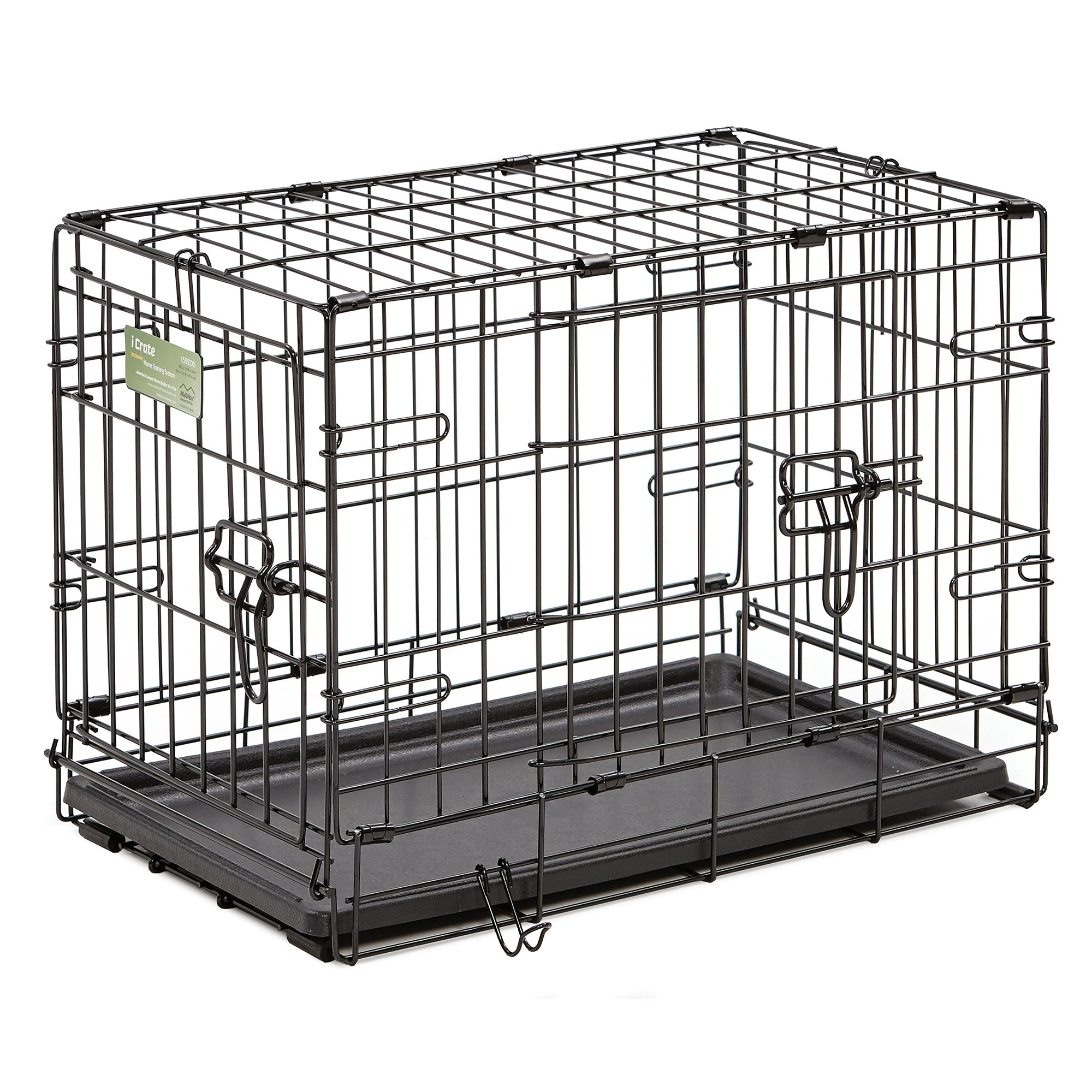 Midwest-iCrate-Double-Door-Folding-Dog-Crates thumbnail 25