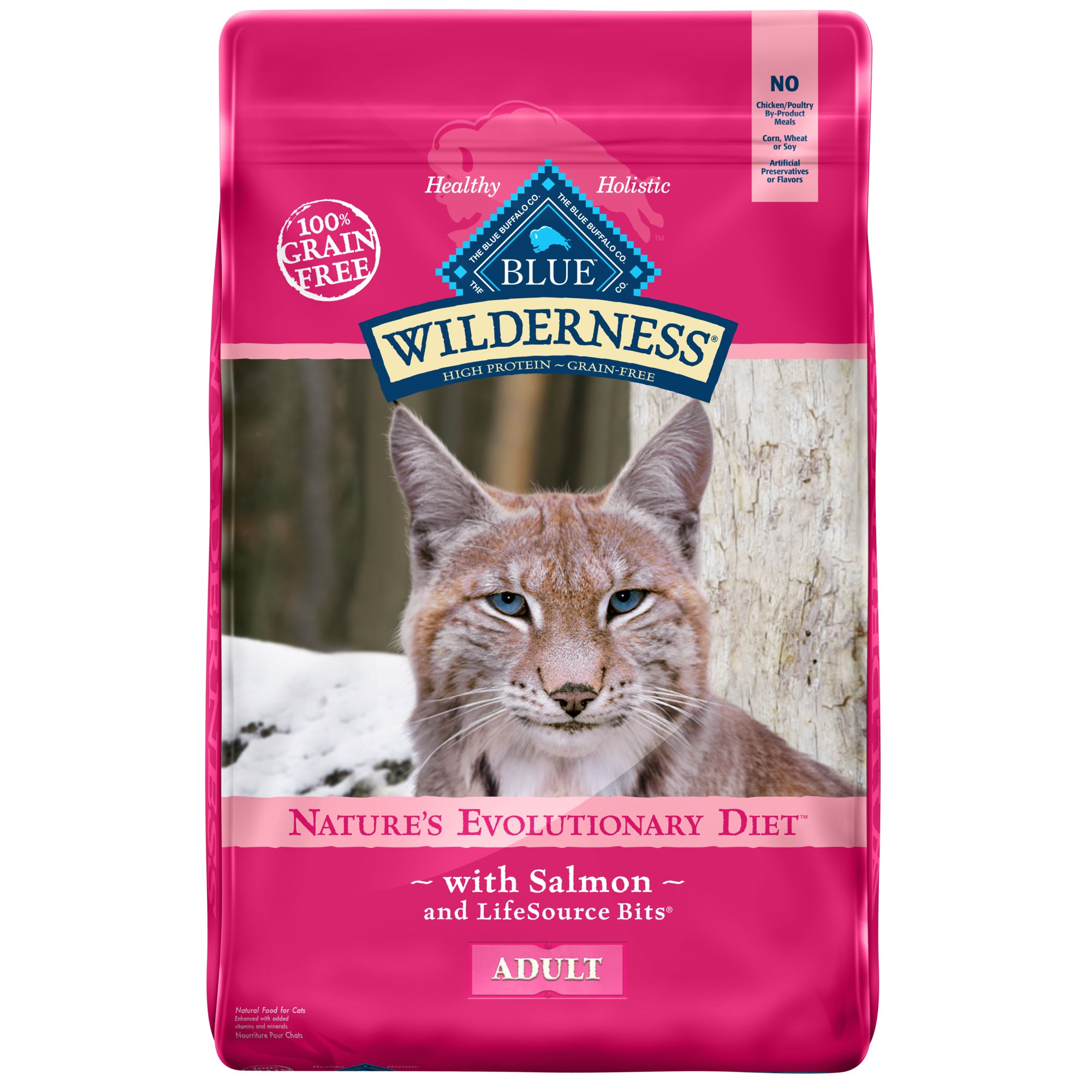 Blue Buffalo Wilderness Cat Food Grain Free Chicken  Lbs