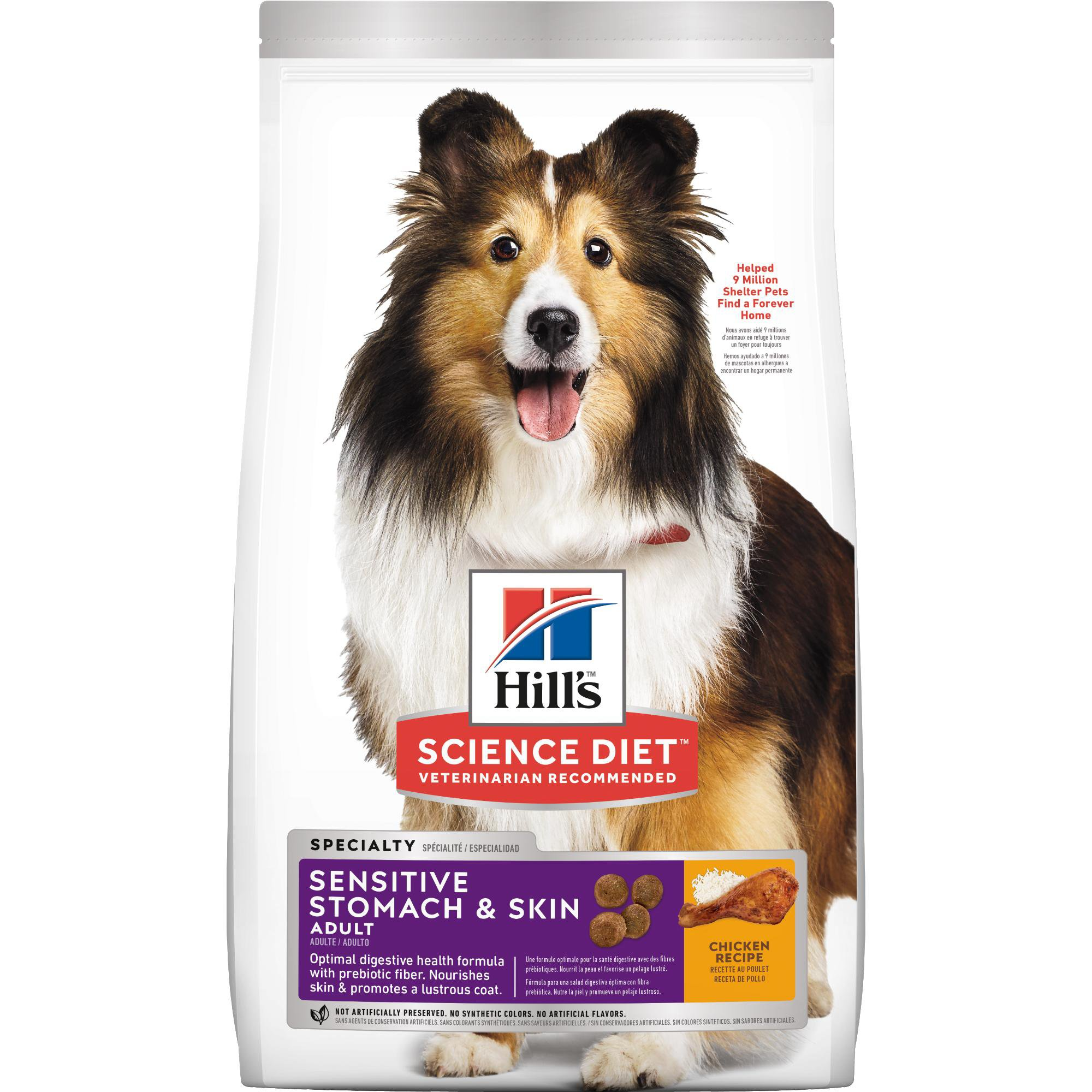 Hill's Science Diet Adult Sensitive Stomach & Skin Chicken Recipe Dry Dog  Food   Petco