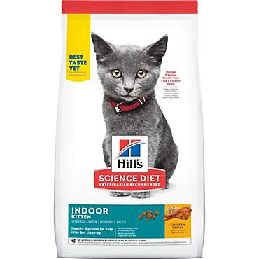 Hill's Science Diet Indoor Chicken Recipe Dry Kitten Food